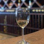 La Vina winery glass
