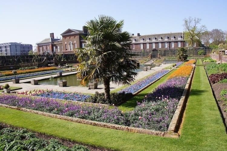 Kensington Palace London spring break vacation ideas