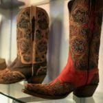 Lucchese laser cut boot
