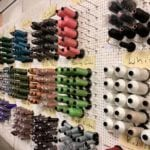 Lucchese boot factory thread wall