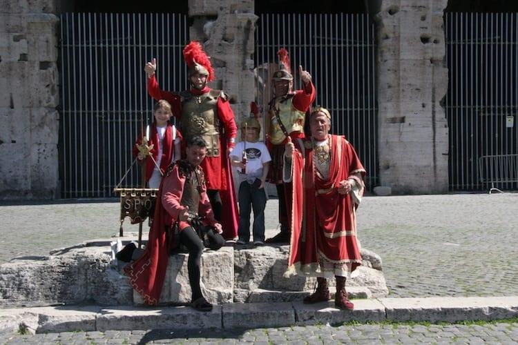 Rome Gladiator school