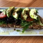 Salt + Honey avocado toast