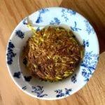 Salt + Honey green chili cheese hash brown