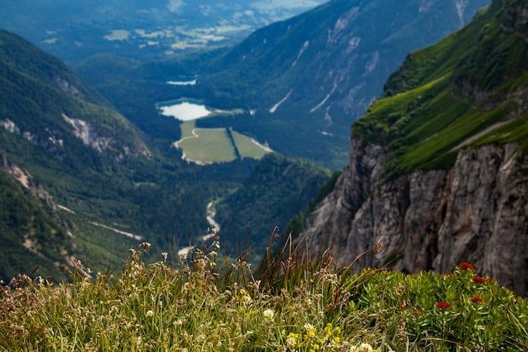 Slovenia mountain view