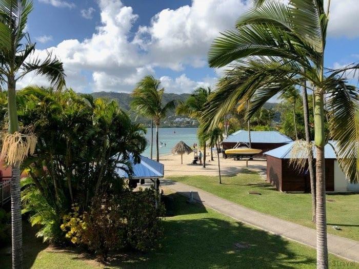 Club Med Martinique partial sea view