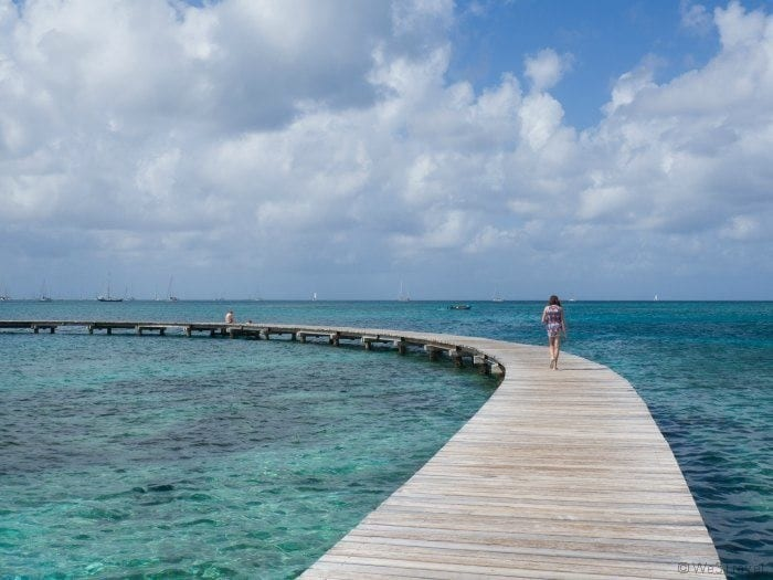 Club Med Martinique water ski dock