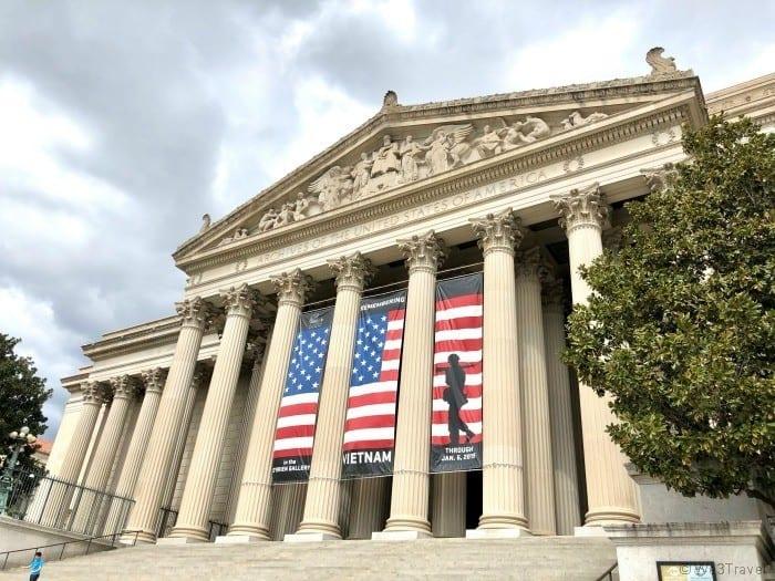National Archives Washington DC itinerary