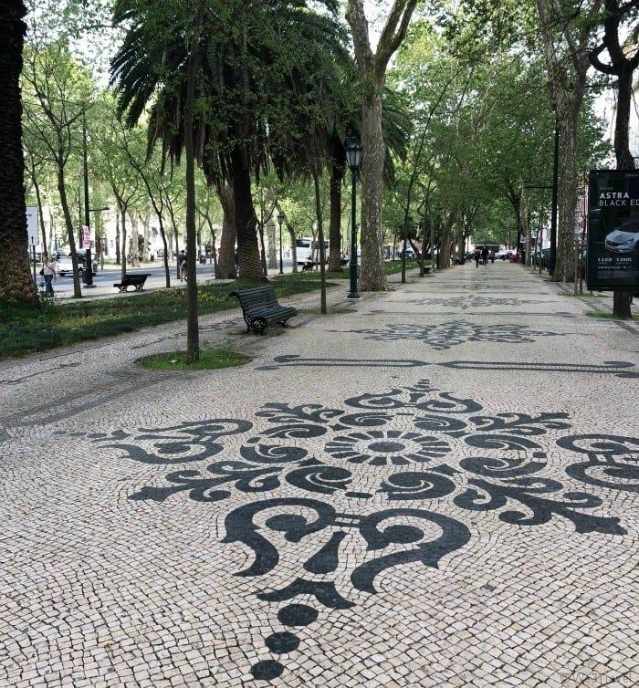 Avenida Liberdade Lisbon