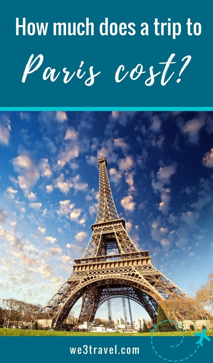 How much does a trip to Paris cost? Find out before you go so that you can plan your Paris vacation budget. #paris #budgettravel #travel #france