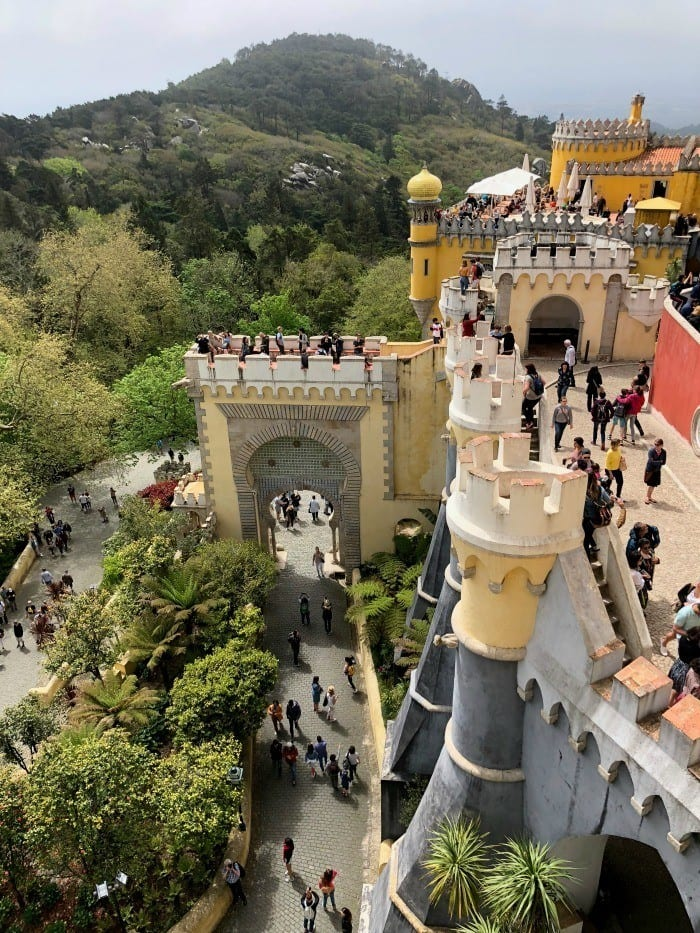 Pena Palace Day trip to Sintra Portugal