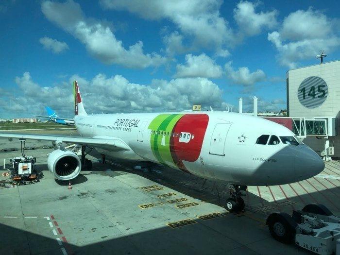TAP Air Portugal plane