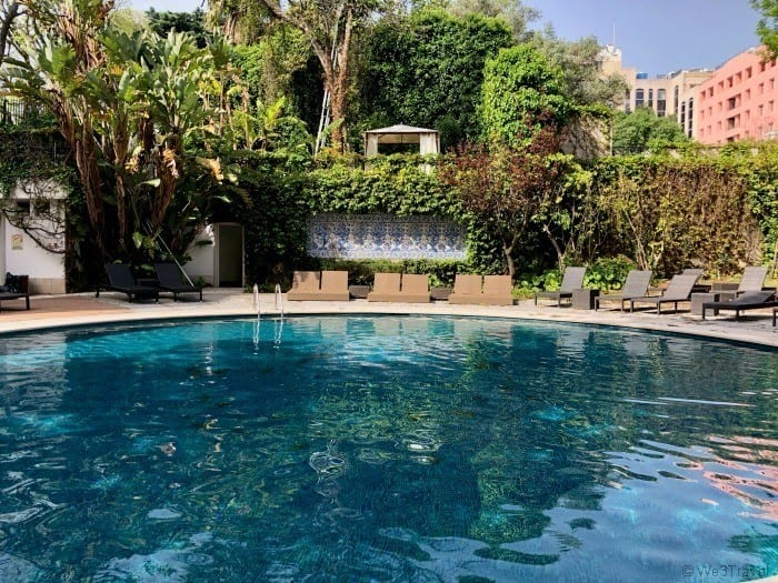 Tivoli Lisbon pool
