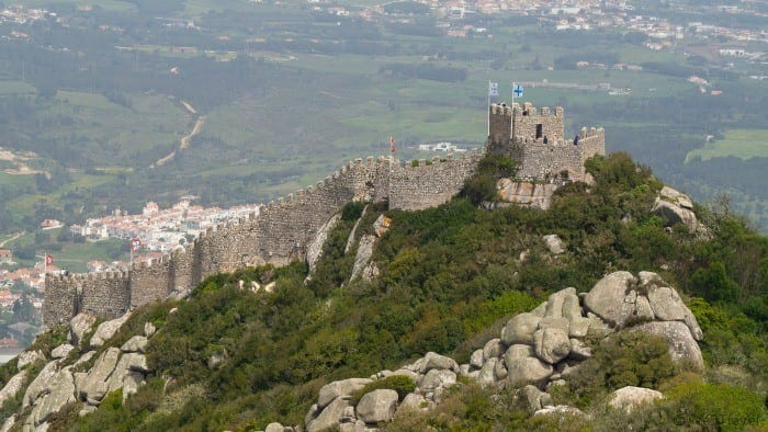 Moors Castle Sintra Portugal