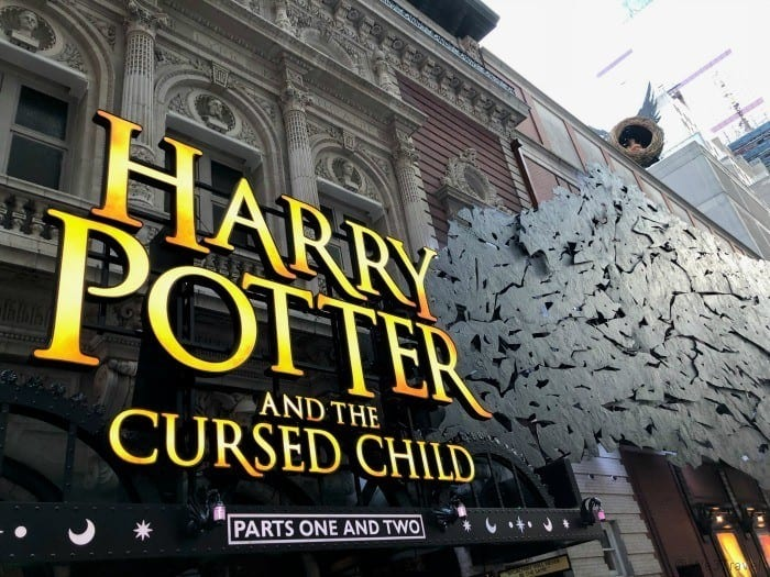 Harry Potter and the Cursed Child on Broadway