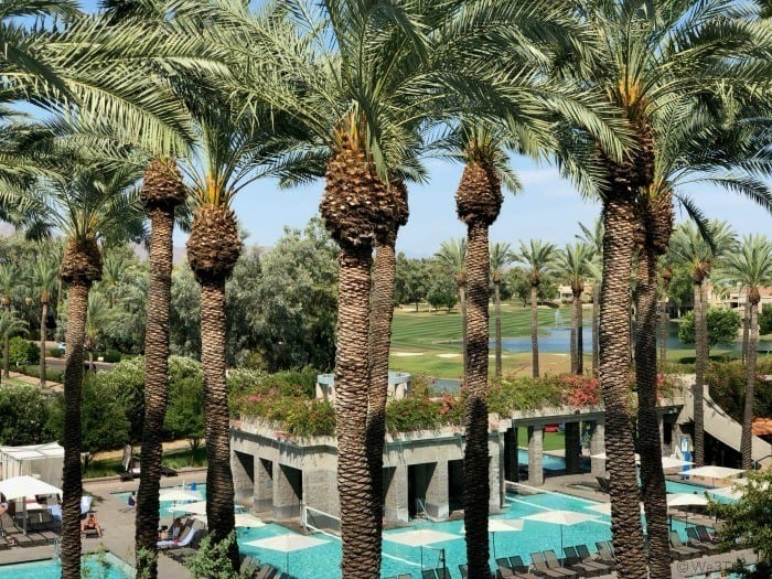 Hyatt Regency Scottsdale pool view