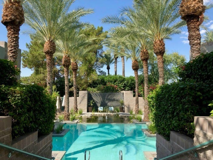 Hyatt Regency Scottsdale spa pool