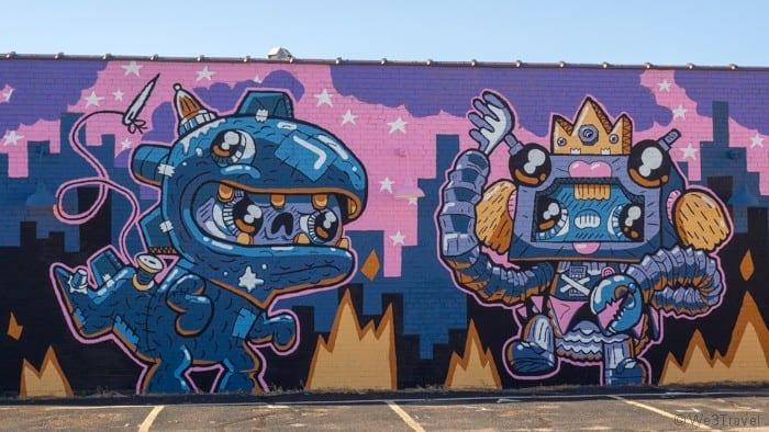 Douglas Design district Wichita mural