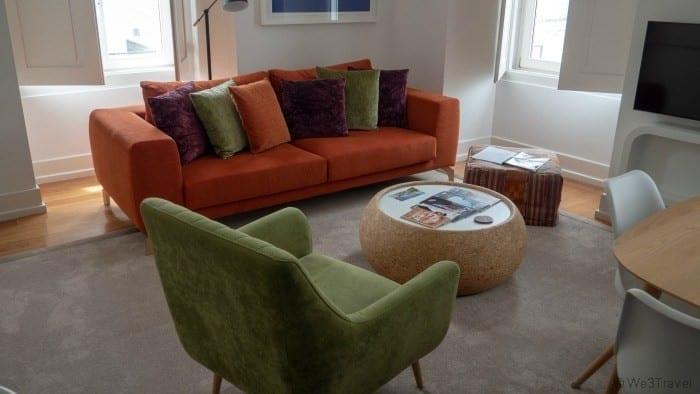 Martinhal chiado living room