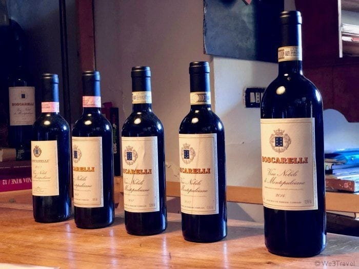 Boscarelli Vino Nobile wine