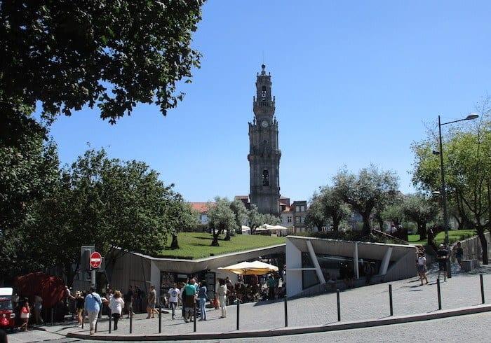 Praça de Lisboa and Torre dos Clerigos