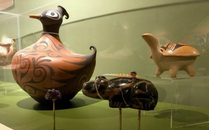 Indian Pueblo Cultural Center pottery