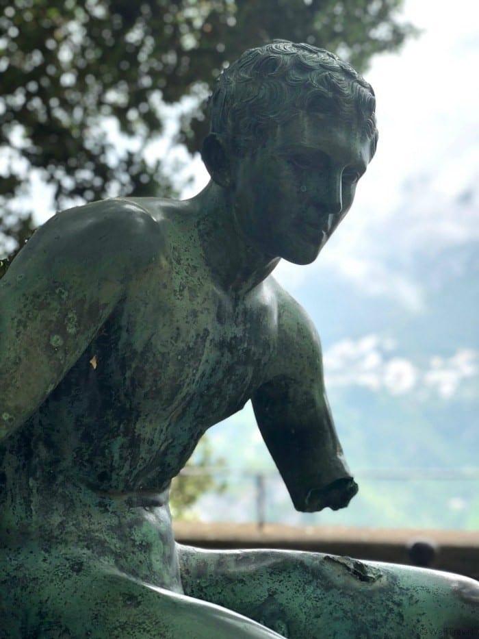 Villa Cimbrone statue