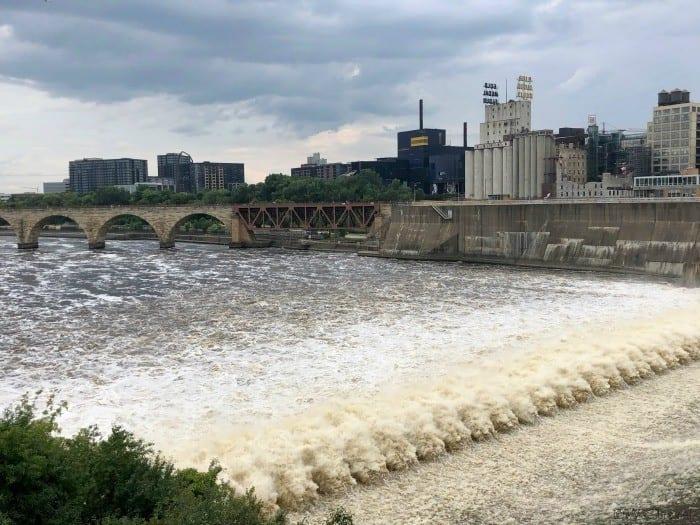 St. Anthony's Falls Minneapolis