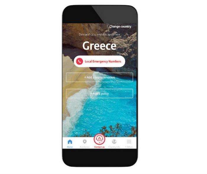TravelSmart app emergency numbers