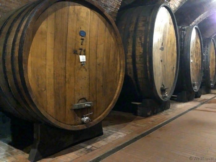Talosa wine casks