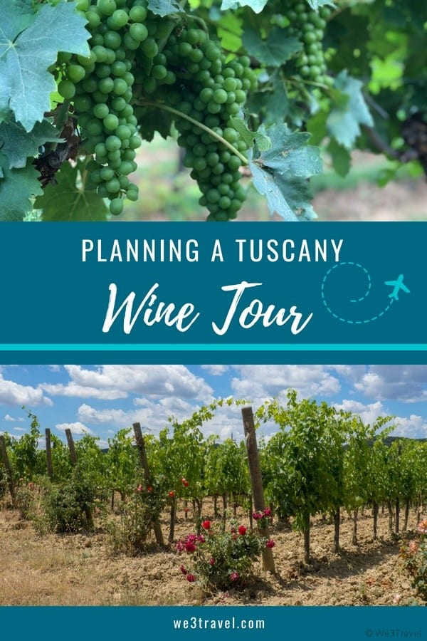 Tips for planning Tuscany wine tours and recommendations on our favorite wineries. #tuscany #italy #wine #winetour #europe