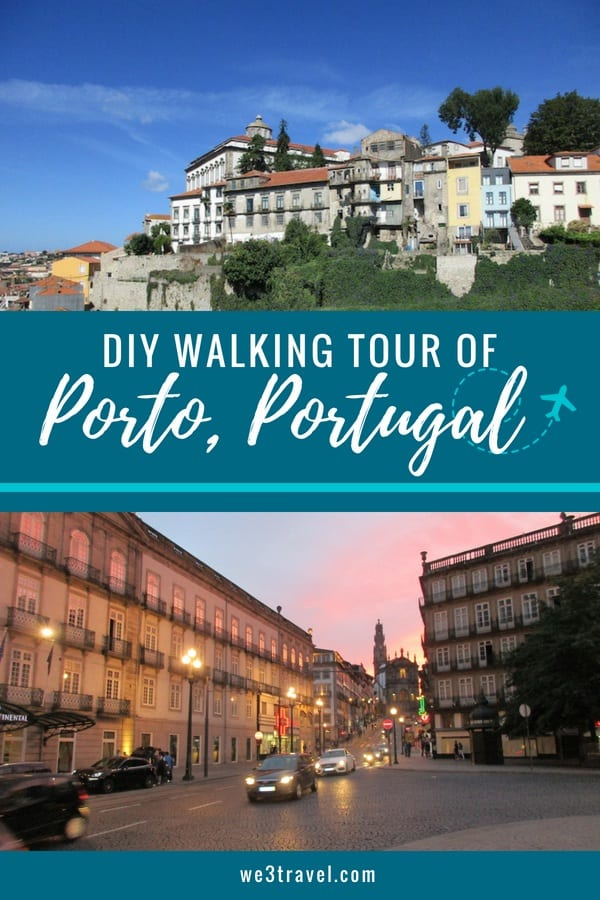 How to plan a DIY walking tour of Porto Portugal with what to see and how to organize your day in Porto #portugal #porto #europe