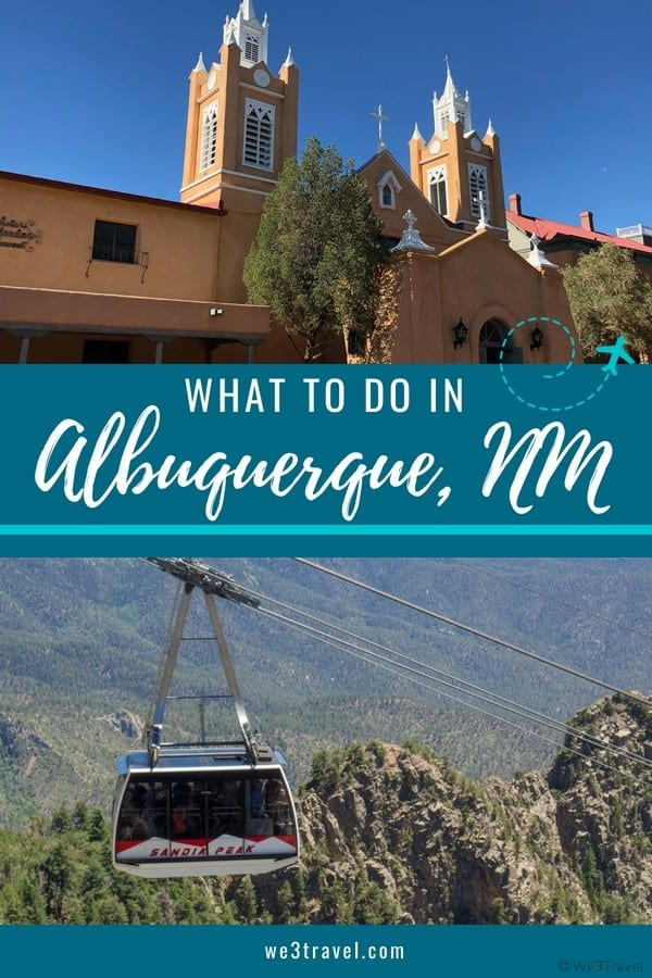What to do in Albuquerque New Mexico including where to stay, what to do and where to eat #newmexico #albuquerque #familytravel #southwest