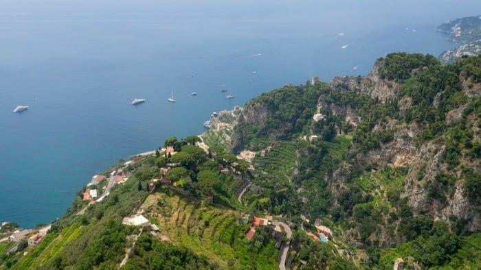 Villa Cimbrone view