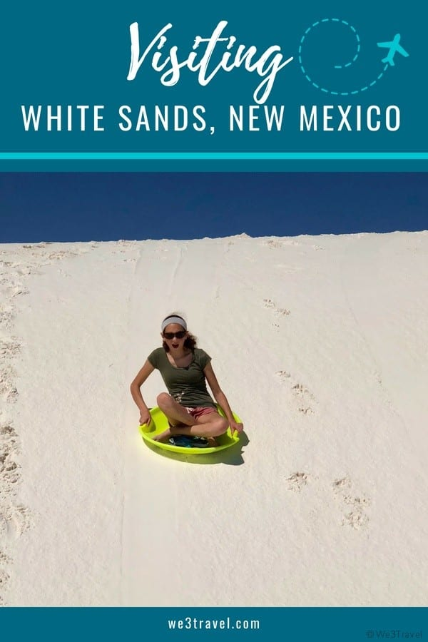 Tips for visiting White Sands National Monument in Southern New Mexico #whitesands #newmexico #nationalparks #findyourpark