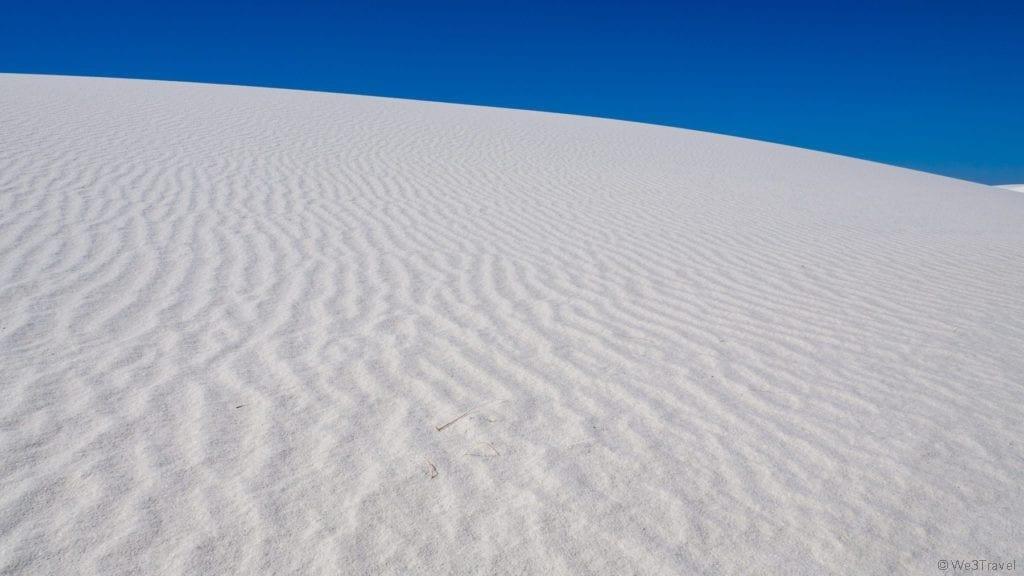 White Sand dunes New Mexico