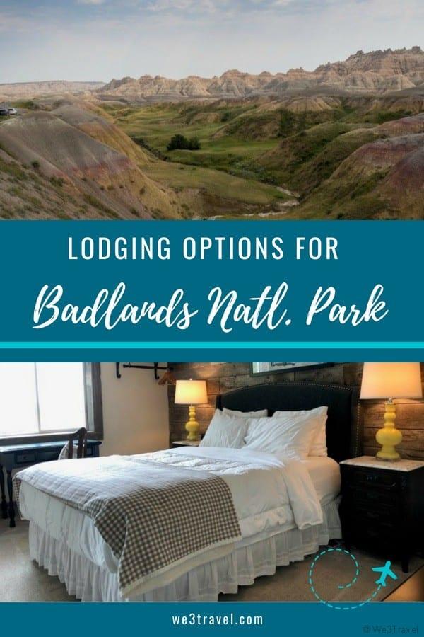 Badlands National Park lodging recommendations and tips for visiting the park. #badlands #southdakota #nationalparks #familytravel