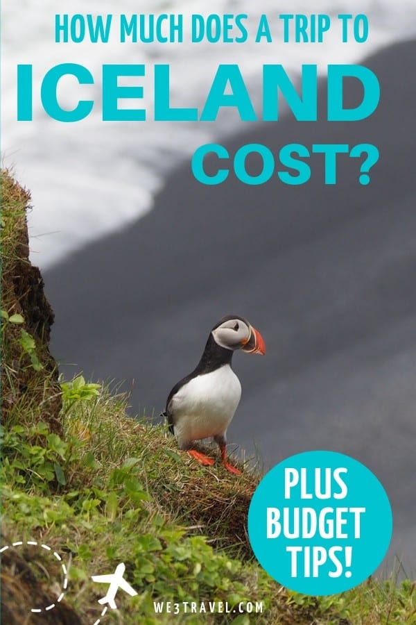 How much does an Iceland trip cost? Find out and create your Iceland vacation budget with tips on how to save. #iceland