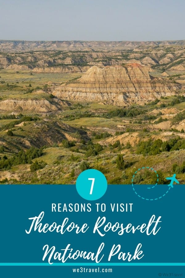 Reasons to visit Theodore Roosevelt National Park in North Dakota #northdakota #nationalparks #findyourpark #theodoreroosevelt