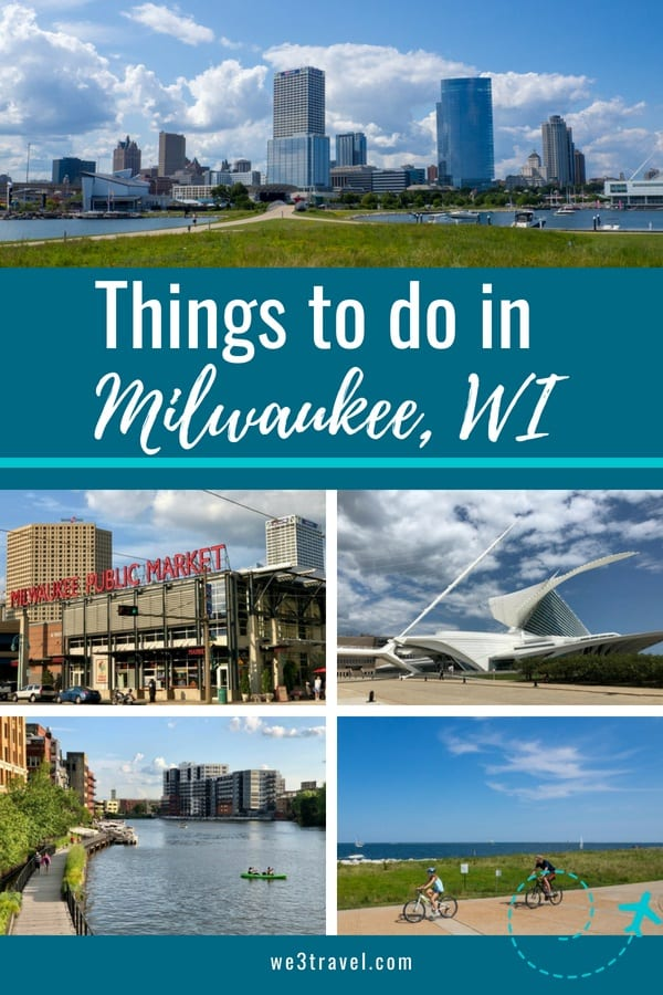 Things to do in Milwaukee Wisconsin in the summer - enjoy the lakefront and riverwalk, attend a festival, visit a museum, and be sure to check out the great food scene! #Milwaukee #Wisconsin #Midwest #travel