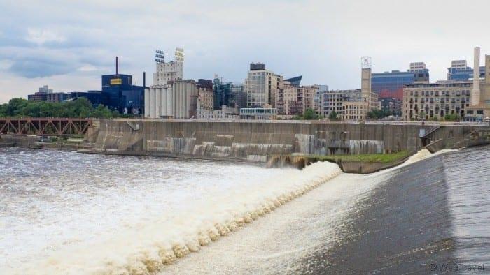 St Anthony Falls Minneapolis