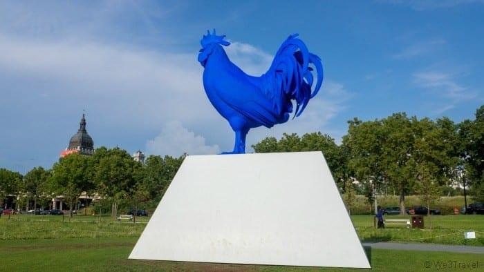 Walker Art Center rooster