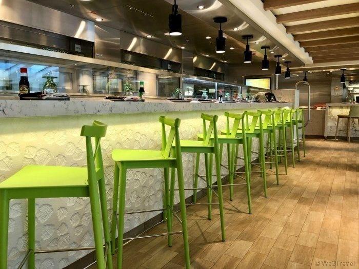 Food Republic seating
