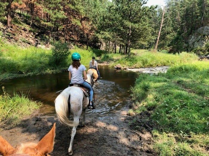 Blue Bell stables horseback riding in the Black Hills