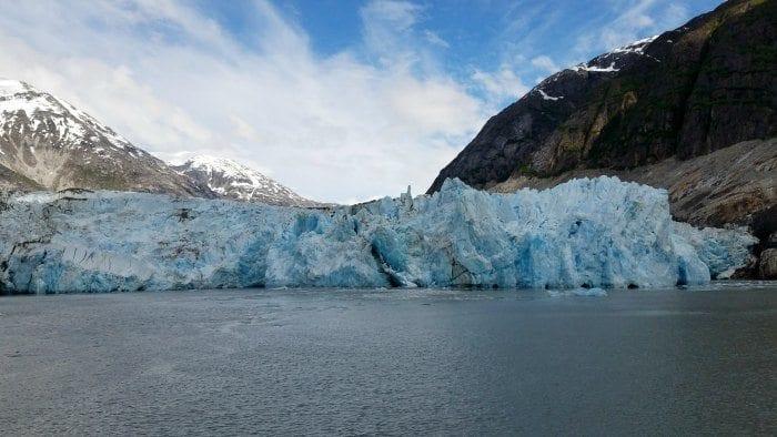 Endicott Fjord glacier