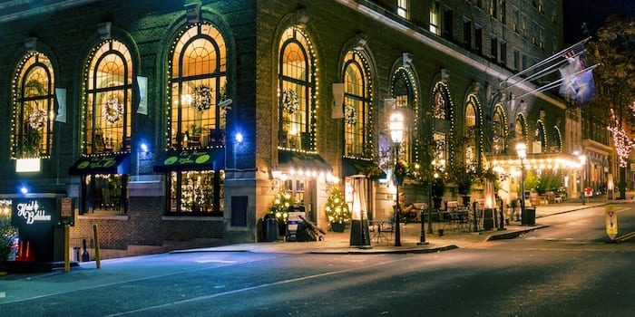 Hotel Bethlehem lights