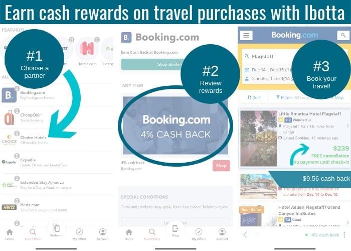 Ibotta travel partners