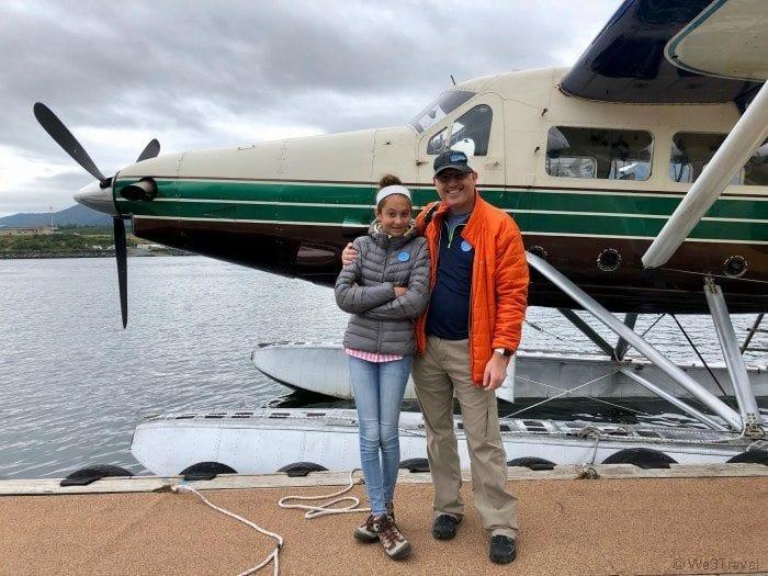 Sea plane excursion in Ketchikan