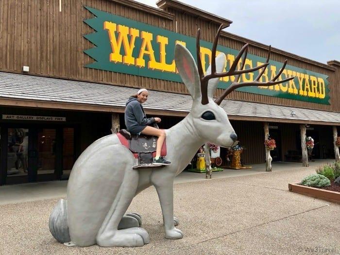 Wall Drug jackalope
