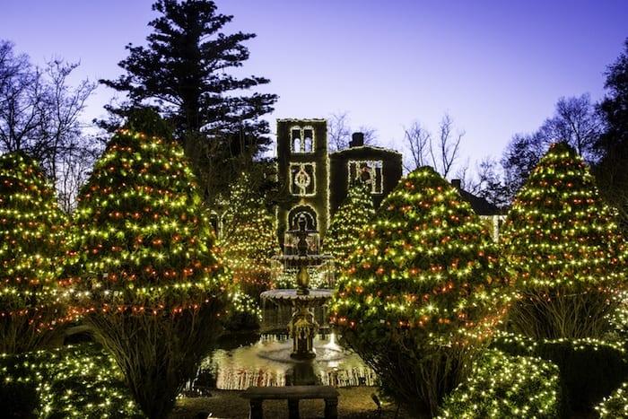 Barnsley Resort Christmas Lights