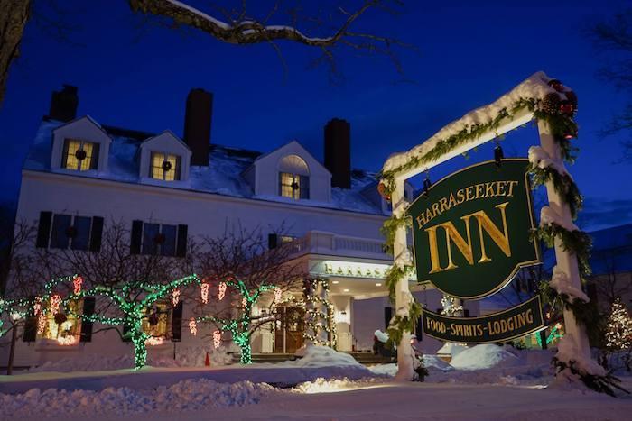Harraseeket Inn Christmas lights